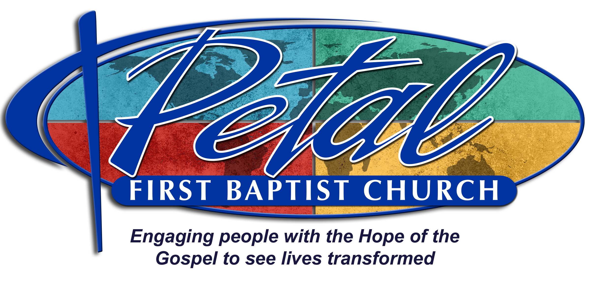 Petal First Baptist Church Logo